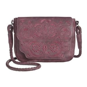 Sam Edelman Trixie crossbody bag Red Embroidered
